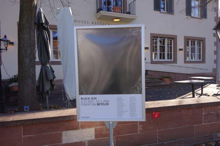 "Exposition ""Black Sun"" à Riehen — Bâle/Basel"