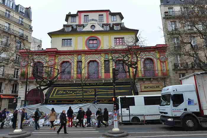 Bataclan cafe — Boulevard Voltaire — Paris