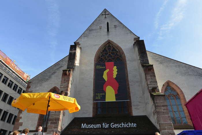 Musée historique sur la BarfüsserPlatz — Bâle/Basel