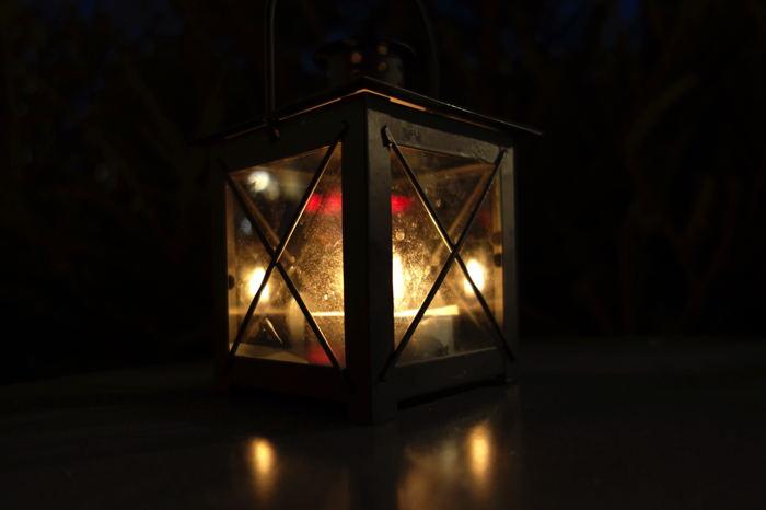 — Lanterne sur un Marché de Noël — Cologne —