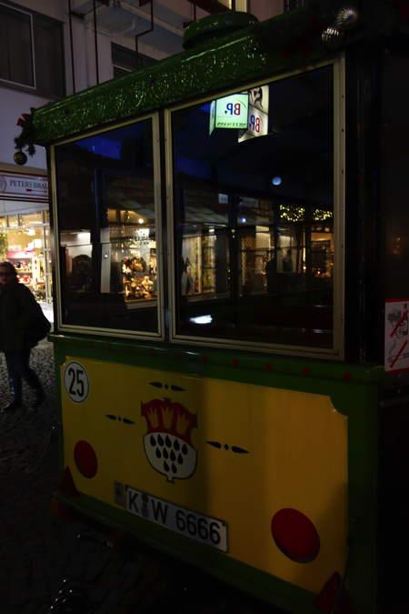— Petit train de Noël de Cologne — Cologne —