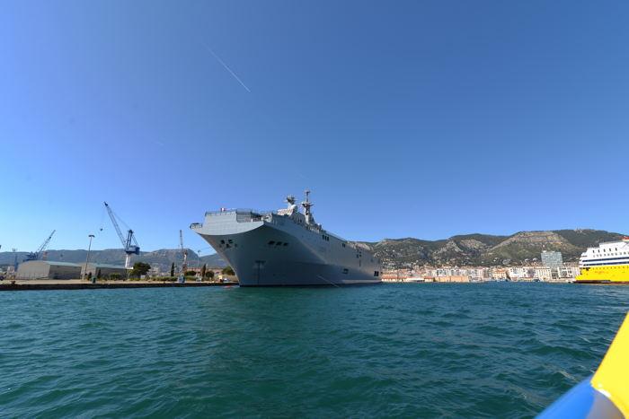 La rade de Toulon et l'arsenal — Toulon