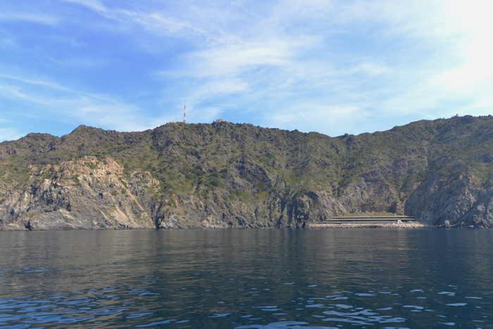 Le Cap Sicié vu depuis la mer — Commune de Six-Fours-Les-Plages