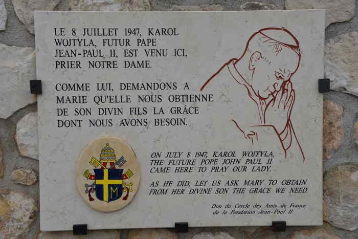 — Plaque commémorative — Basilique Notre Dame de la Garde — Marseille —