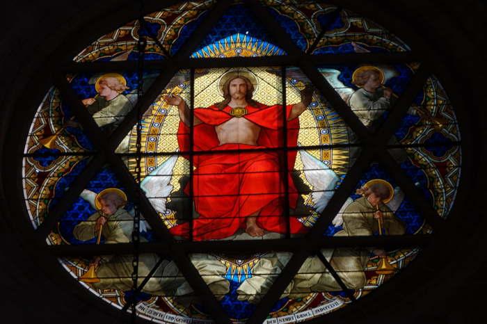 — Christ en Gloire — Cathédrale/Münster de Bâle/Basel — Bâle/Basel —