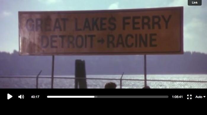 Ferry des Grands Lacs  Detroit-Racine