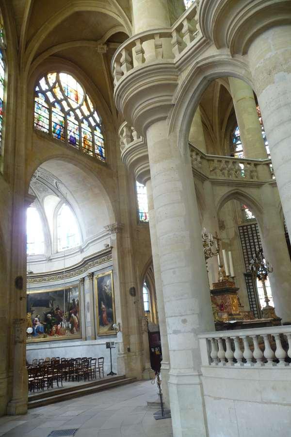 Chapelle mariale — Eglise St Etienne-du-mont — Paris