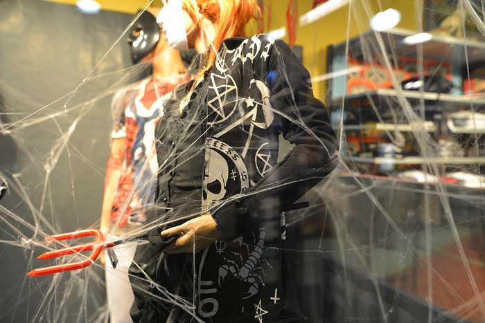— Vitrine Halloween - Metro Boutique — Bâle —