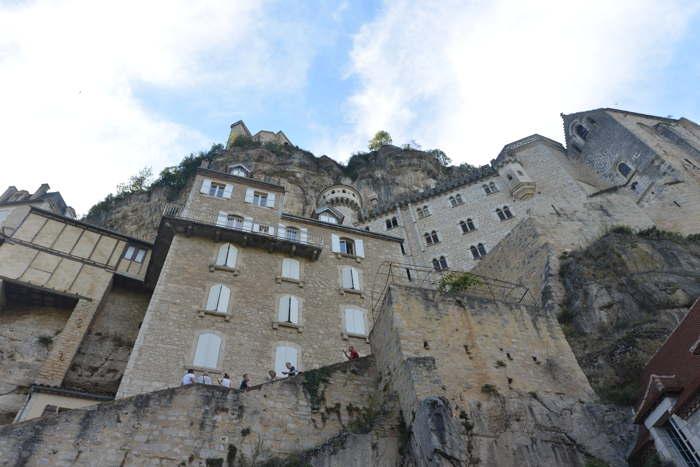 Sanctuaire à flanc de montagne — Rocamadour