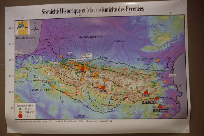 Maison de la Connaissance des Risques Sismiques — Lourdes