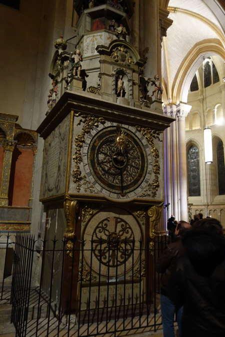 — Horloge astronomique — Cathédrale St Jean-le-Baptiste — Lyon —