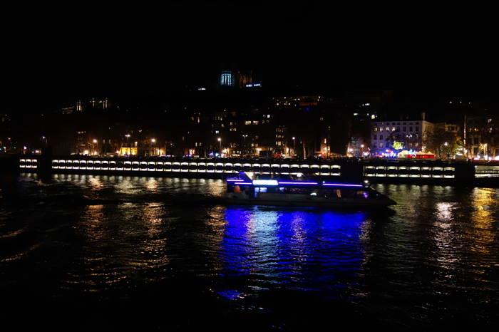 — Berges de la Saône — Fête des Lumières — Lyon —