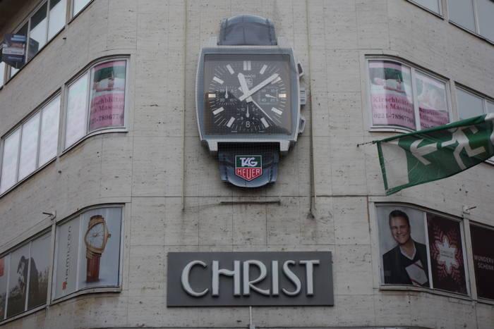 Façade d'une bijouterie Christ — Cologne
