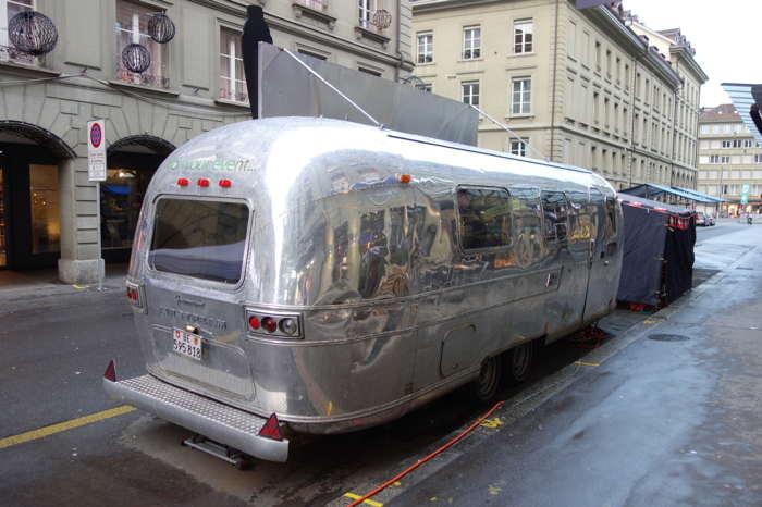 — Caravane Airstream — Bern/Berne —