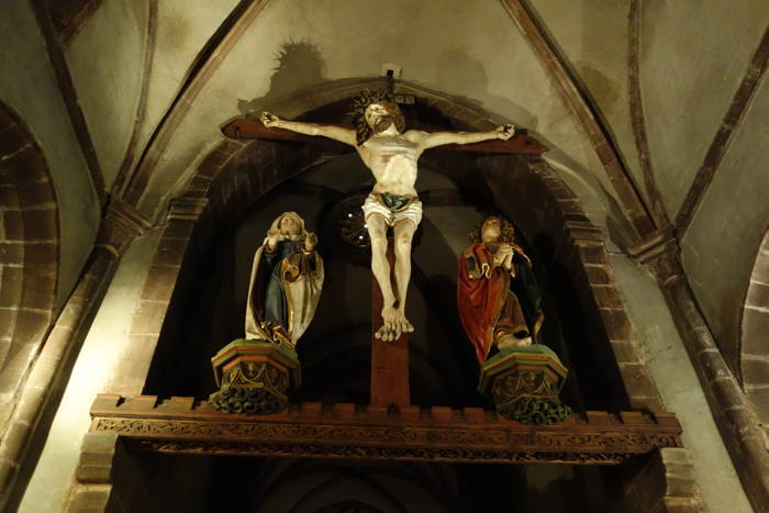 — Crucifix — Eglise Sainte Croix — Kaysersberg —
