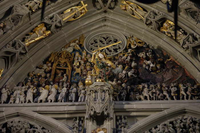 "— Jugement dernier — Cathédrale"" - Bern/Berne —"