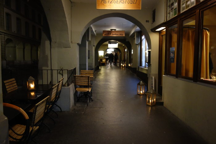 — Arcades — Bern/Berne —