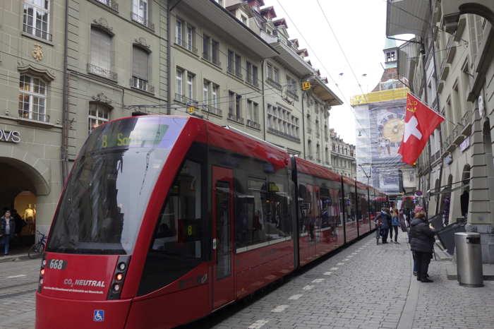 Tram n°668 — Bern/Berne