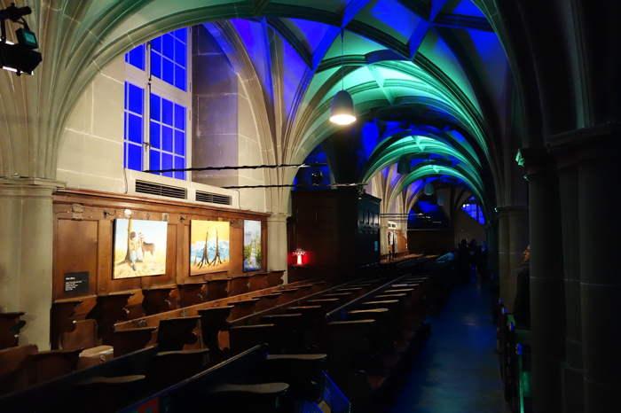 """Maquette de """"soucoupe volante"""" - Eglise du Saint-Esprit — Nuit des musées — Bern/Berne"""
