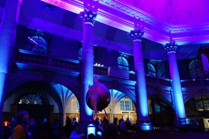 Animation poissons volants - Eglise du Saint-Esprit — Nuit des musées — Bern/Berne