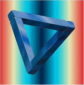 Triangle trompe l'œil