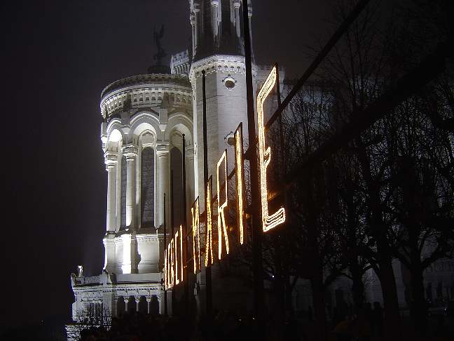 LYON 2004 Fete des lumières