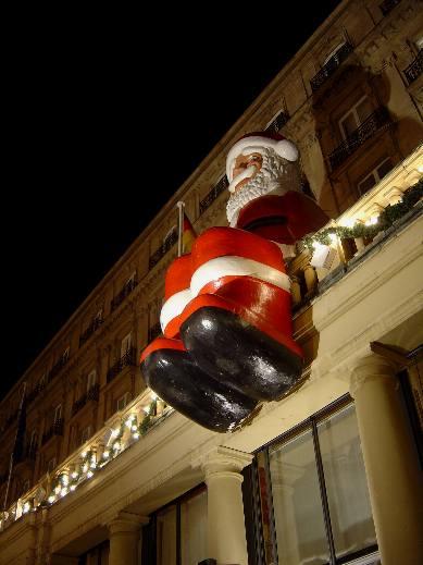 Effigie du Père Noël