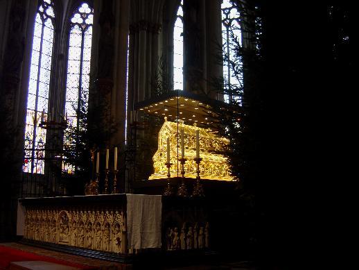 Reliquaire des rois mages à Cologne