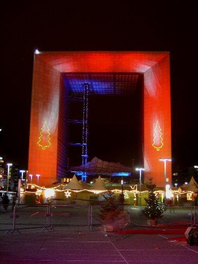 Arche de La Défense à Paris
