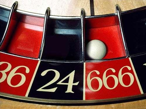 roulette (photo-montage 666)