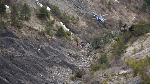 Site du crash du Germanwings 4U9525