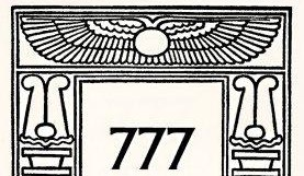 Couverture 777 d'A crowley
