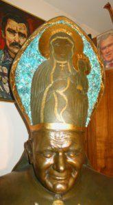 Buste de Jean Paul II