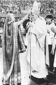 Jean Paul II et Shiva