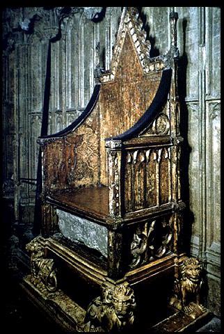 La pierre du trône des rois d'Angleterre Corchair