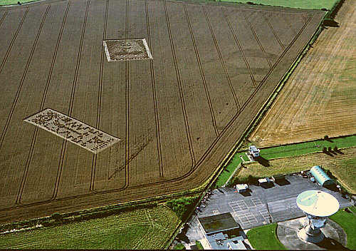 crop circles à Chilbolton
