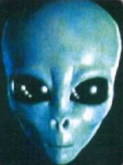 Face d'extra-terrestre