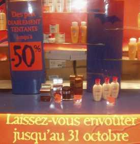 Halloween chez Yves Rocher 4