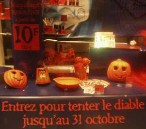 Halloween chez Yves Rocher 3