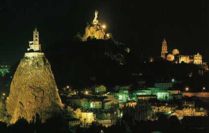 Ville du Puy de nuit