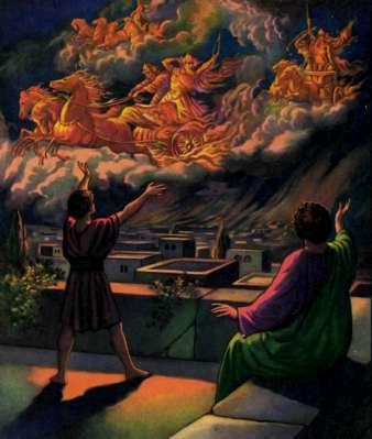 Elisée et vision céleste des chars