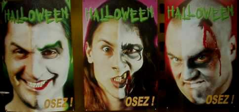 Vitrine Halloween