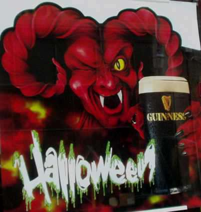 Diable Guiness et Halloween