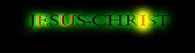 JESUS-CHRISt = DIEU