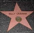 - Pentagramme de Billy Graham sur le Fame Boulevard à Hollywood -