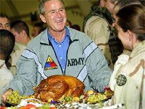 Président Bush en Irak