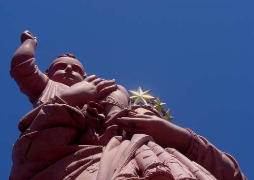 Statue NdF au Puy en Velay