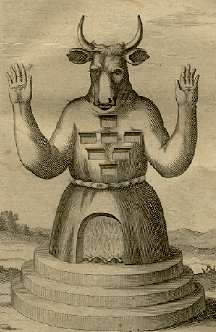 Statue de Moloch