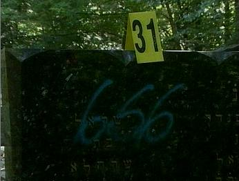 profanations de cimetières Juifs