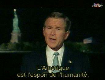 Interview de G W Bush